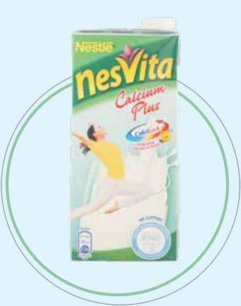 pure goodness with great tasting milk for the entire family. NESTLÉ NESVITA The progressive and modern