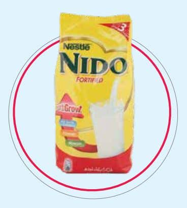 NESTLÉ NIDO FORTIGROW Life's successes and failures are largely dependent on the choices we make.
