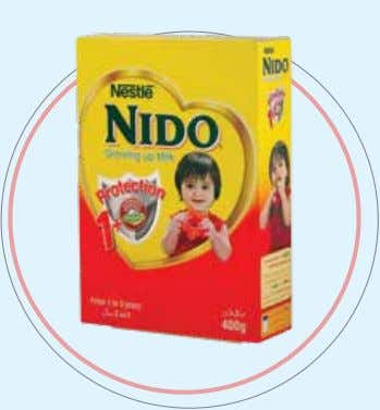 well in the classroom as well as on the playing field. NESTLÉ NIDO 1+ NIDO 1+