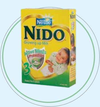 healthy and contributes to optimum growth and development. NESTLÉ NIDO 3+ NIDO 3+ is especially developed