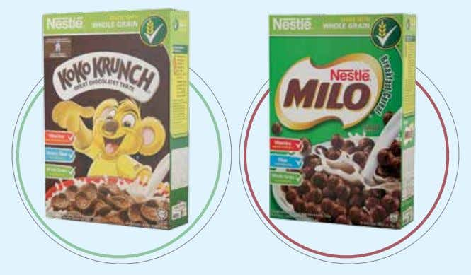 its natural content of fiber, vitamins and minerals. Kids Range: NESTLÉ KOKO KRUNCH is a flagship