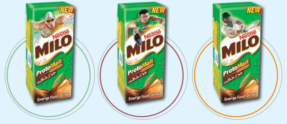 "strategy, delivering on the ""Healthy Energy"" platform. NESTLÉ MILO contains PROTOMALT, a special malt extract made"