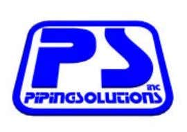 PipingSolutions, Inc. 6219 Brittmoore Road, Houston, Texas 77041-5114, U.S.A. Telephone: 713 -849-3366 * FAX: