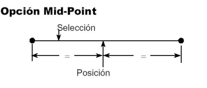 dos puntos a lo largo de la parte recta de un elemento. Fig. 26  Fraction
