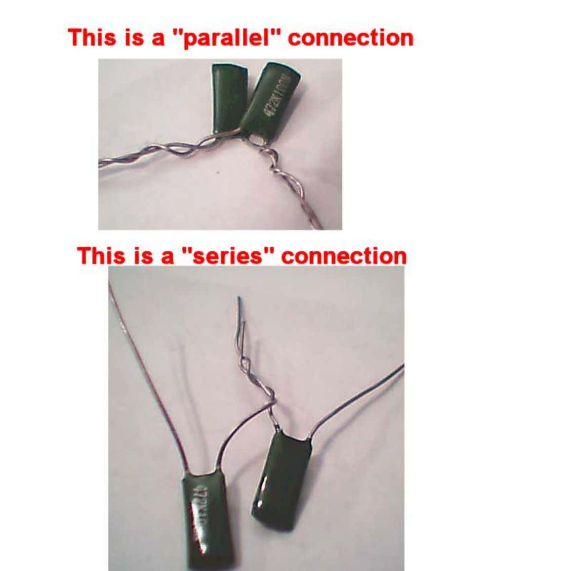 Different types of connections—they will yield different results!