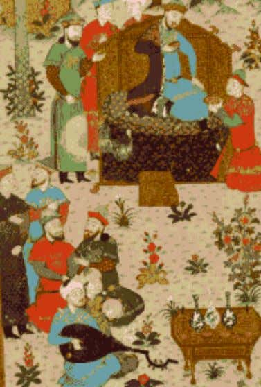 garden party Anthony and Stuart Cary Welch: Arts of the Islamic Book Kaikaus and the Bard: