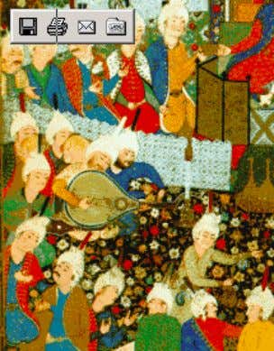 Monkka Islamic miniature Pacaci & Aksoy : Music in the court of Suleyman I The Feast