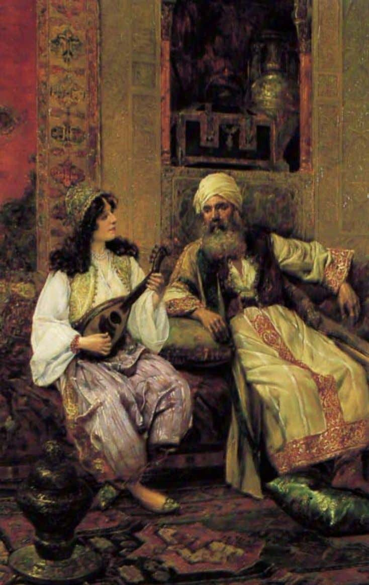 Clement Pujol (19 t h century): Entertaining the Shaikh The Oud 35