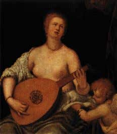 Ferrari (1475-1546): The Assumption of the Virgin, 1534 Parrasio Micheli (1550): The Lute Playing Venus The