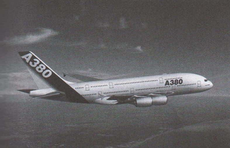Figure 1.7 Airbus A380 (Daniel and Ishai 2006) In the energy production field, carbon fibre