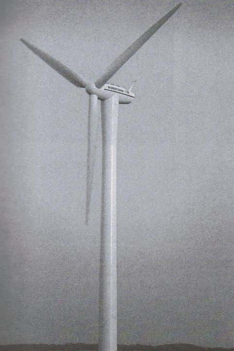 Figure 1.8 Composite wind turbine blade used for energy production (Daniel and Ishai 2006). One
