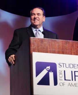 EVENTS Throughout the year, Students for Life of America hosts several events across the nation to