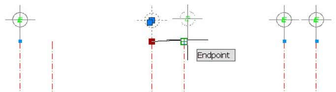 maintains its position at the endpoint of the line. Figure 25. Editing with inferred constraints In