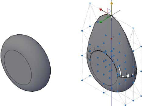 combines the CVADD, CVHIDE, and CVREMOVE functions. Figure 76. NURBS surface Analysis Tools AutoCAD 2011