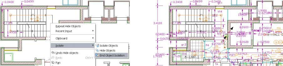 hidden objects using the End Object Isolation tool. Figure 16. End Object Isolation tool The