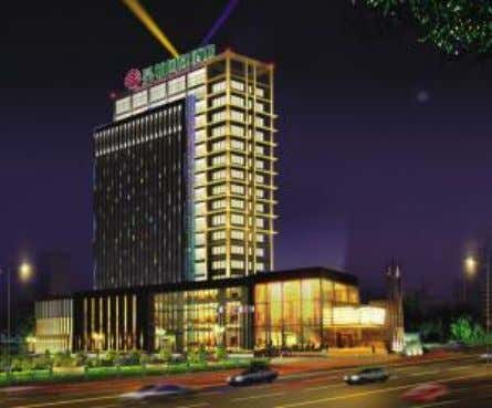 Hotel incorporates a post-modern architectural style blended with high-tech that, when customers stay, it presents them