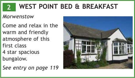 2 WEST POINT BED & BREAKFAST Morwenstow Come and relax in the warm and friendly