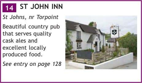 14 ST JOHN INN St Johns, nr Torpoint Beautiful country pub that serves quality cask