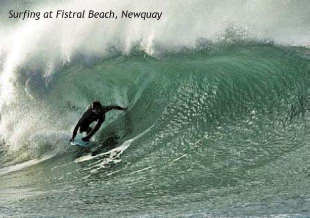 Surfing at Fistral Beach, Newquay