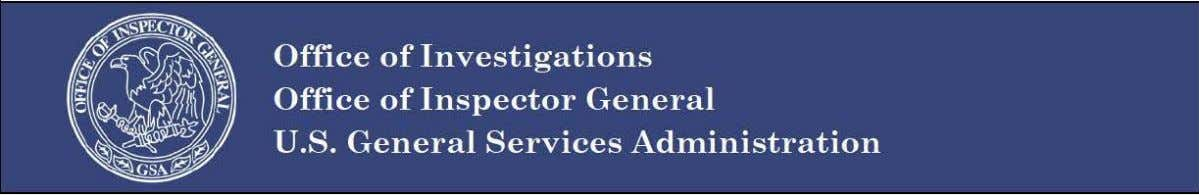 Management Deficiency Report: General Services Administration Public Buildings Service 2010 WESTERN REGIONS CONFERENCE