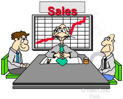 Sales © 1995 Corel Corp.
