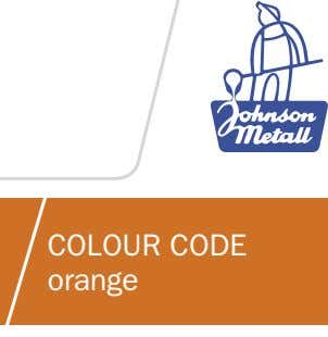 COLOUR CODE orange