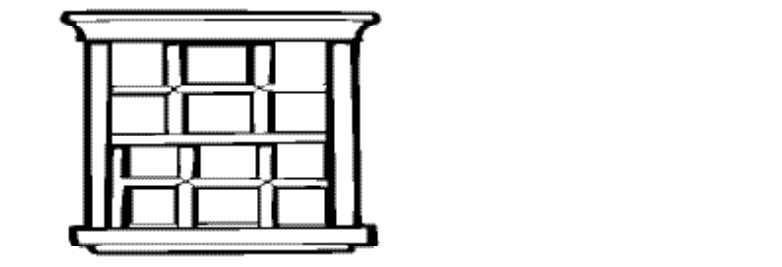 216 in 2 , what are the dimensions of the entire window? a. 4 ′ ×