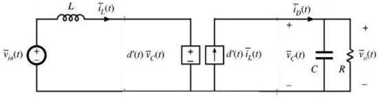 The resultant average circuit model is shown in Fig 2. Fig. 2. Nonlinear averaged circuit model