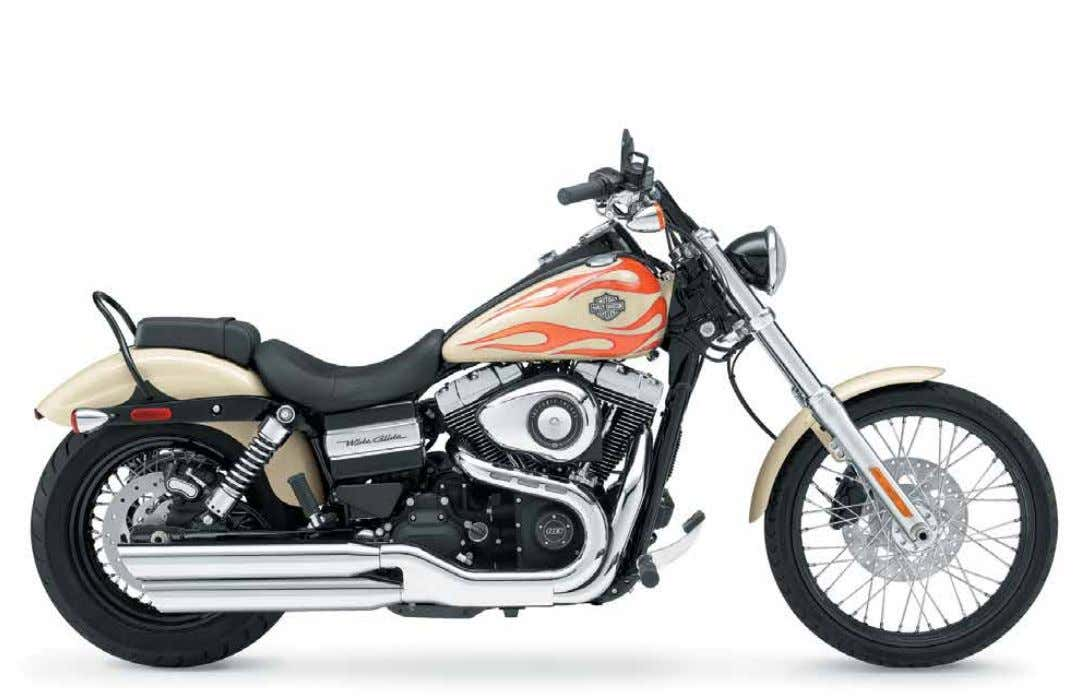 FXD w G wiDe GliDe ® long and Skinny Up Front. Fat and low in the