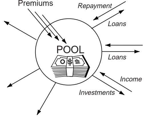 Premiums Repayment Loans POOL Loans Income Investments