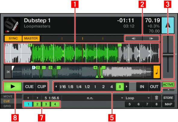 Hardware Reference Areas and Concepts Fig. 5.2 – Equivalent elements on the controlled Deck in TRAKTOR