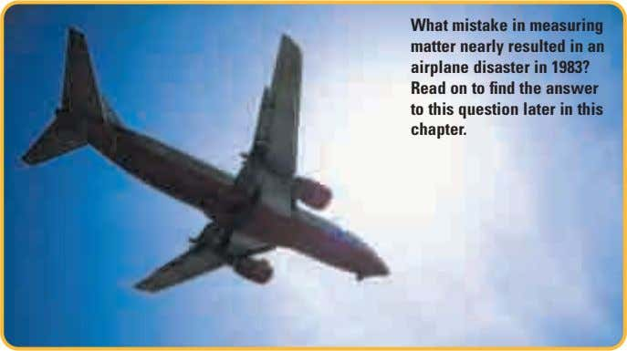 What mistake in measuring matter nearly resulted in an airplane disaster in 1983? Read on