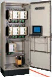 The modules can be installed in a cabinet to drive a multi-spindle machine. MULTICVI system can