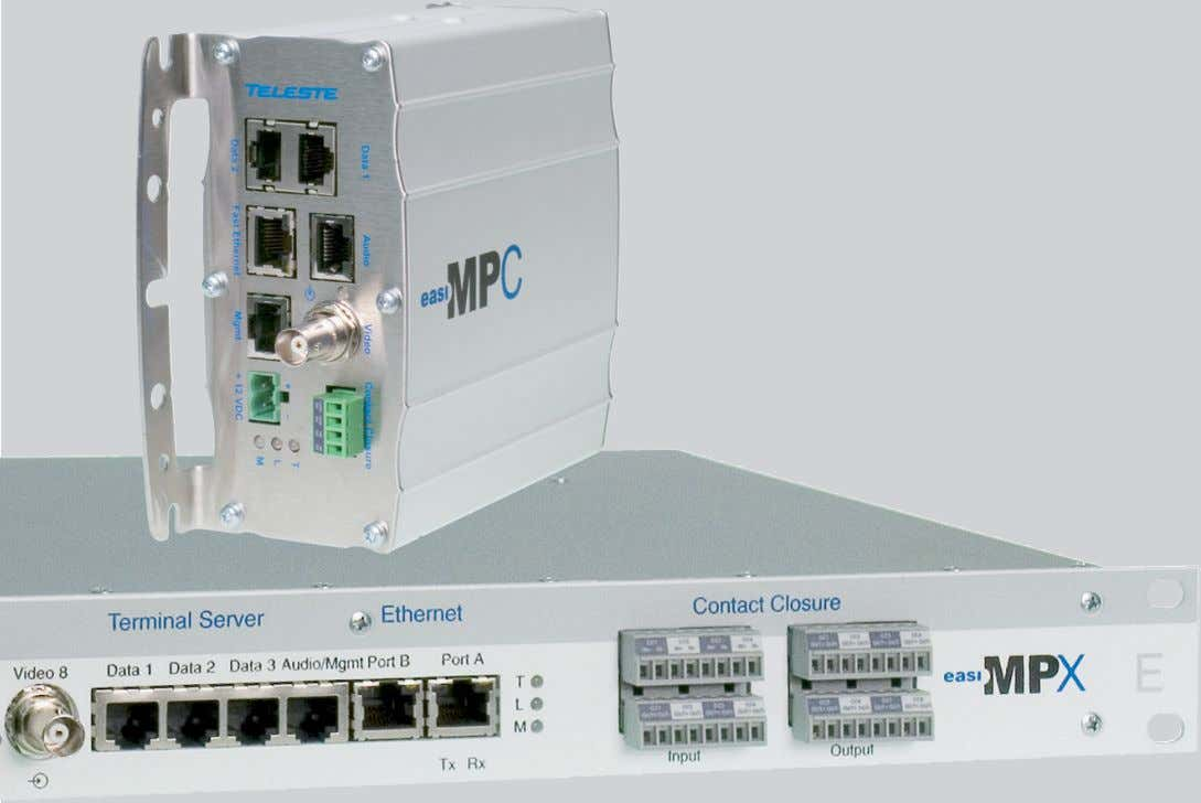 applications MPC-E1, MPC-E2, MPC-E4, MPC-EZ & MPX-E8 MPX series video encoders user manual, 59300385, rev008