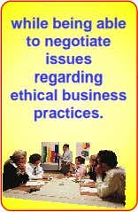 regar ng ethical business practices.