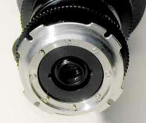 lens mount, Close-up adapter, C- mount adapter. Arri PL Sometimes only one (or two adjacent) 'ears'