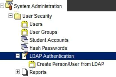 Integration  Creating New User from LDAP  Create new user from LDAP by using Create