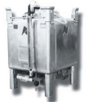 replaces the empty tank rather than refilling it on-site. Figure 5 - PORTA-FEED ® Base Tank
