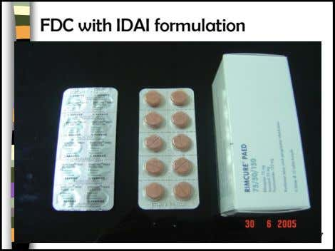 FDC with IDAI formulation 5/11/2014 47