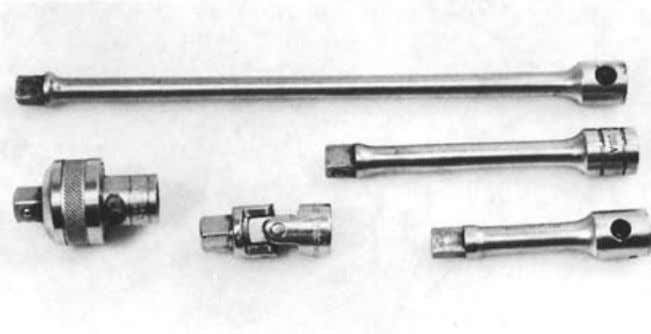 Figure 1-15. Assortment of pliers. Slip-joint pliers (far left) are often confused with water pump pliers