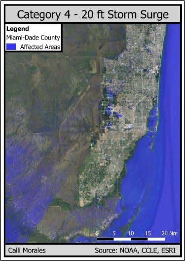 history of Miami-Dade, it has not had a major hurricane in over 25 years. Some