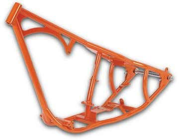. Single cradle frames are usually found in off-road motorcycles. (Figure 3.6.) Single cradle frame. [Internet].