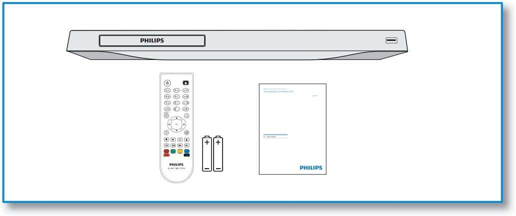 Register your product and get support at www.philips.com/welcome BDP2900 DISC MENU EN User manual