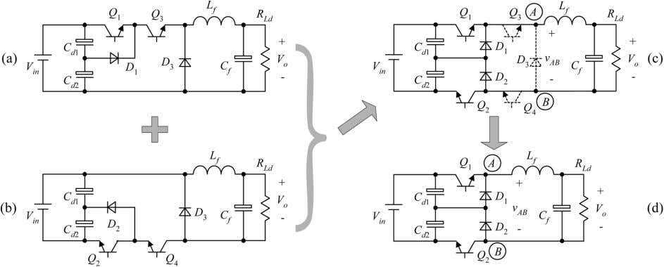 DC–DC CONVERTERS: TOPOLOGIES, ANALYSES, AND CONTROL 3737 Fig. 6. Improvement of the buck TL converter. Fig.