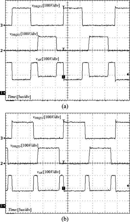 DC–DC CONVERTERS: TOPOLOGIES, ANALYSES, AND CONTROL 3741 Fig. 14. Experimental waveforms of the buck TL converter.