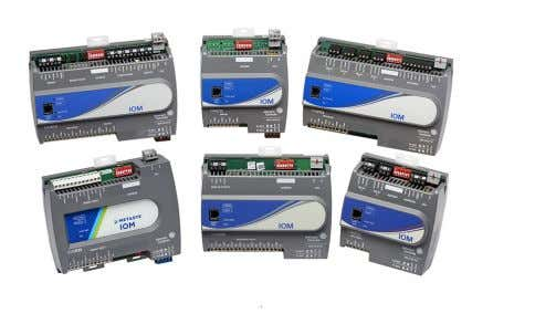 Controls ® representative. Input/Output Modules (IOM) Features • Ability to Reside on the Field Controller (FC)