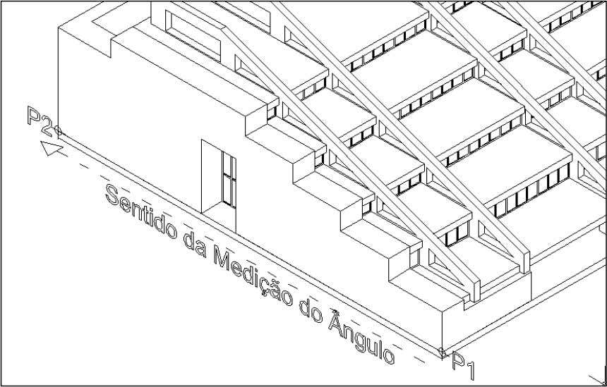 / Specify another point along the axis of tapering: ). Figura 56 - Especificação do eixo
