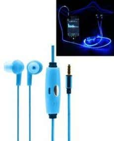 950) > Working width: 425-1250mm > Weight: 235g Lion S001B - Lighted Earphones With Mic -