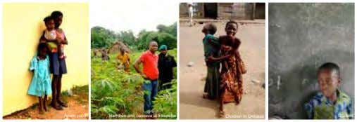 Anam youth Bamboo and cassava at Ebenebe Children in Umueze Student