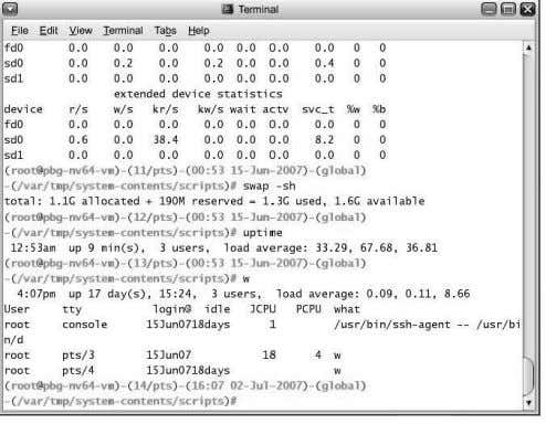 Bourne Shell and DOS Command Interpreter